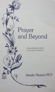 Prayer and Beyond Ainslie Meares